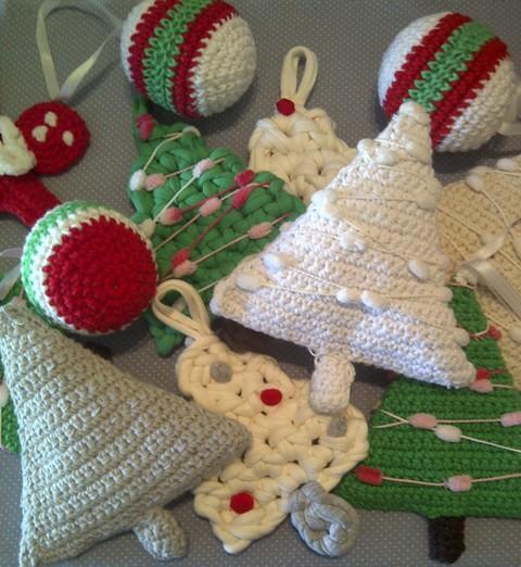 por ser tejidos en crochet