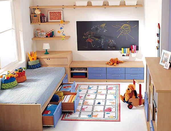 Decoraci n de dormitorios peque os para ni os imagui for Cuartos para ninas pequenos