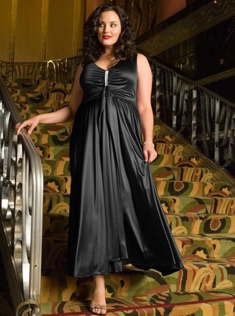 Imagenes de vestidos de noche xl