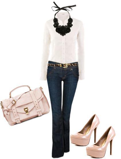 4 Maneras De Vestir Una Camisa Blanca Mujeres De Mi Edad