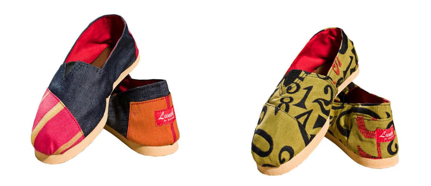 Alpargatas LUNCH for Huitrú el último grito en calzado  Mujeres de mi edad