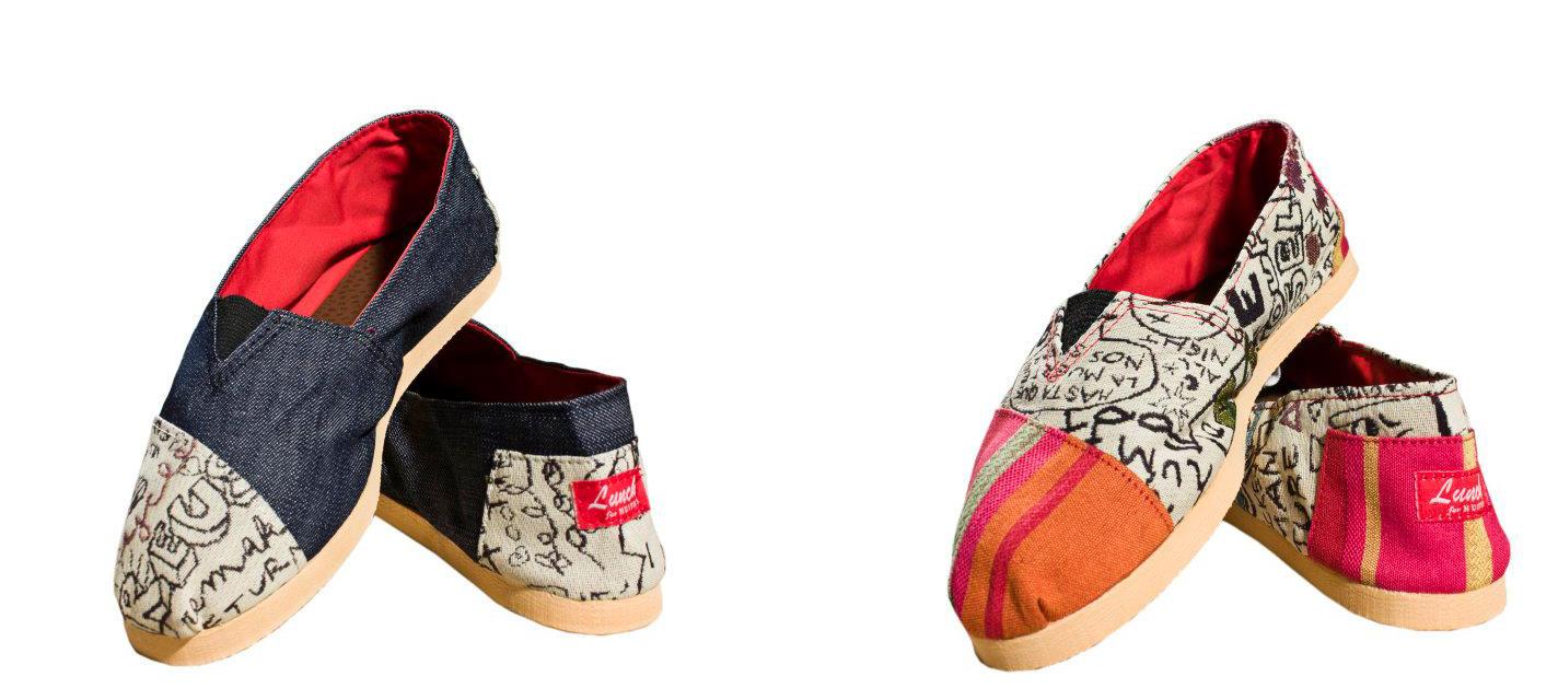 Las alpargatas LUNCH son ideales para quienes disfrutan de la comodidad de este tipo de calzado, vienen con suela de goma eva y puntera con las novedosas