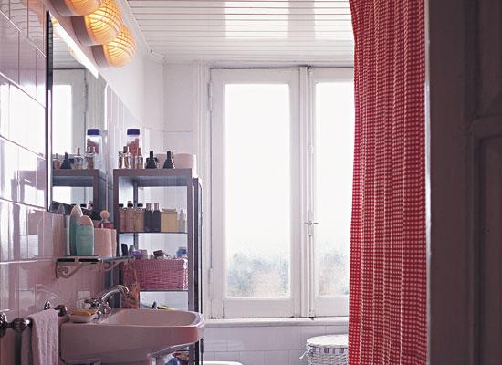 Cortina Baño Elegante:cortina1