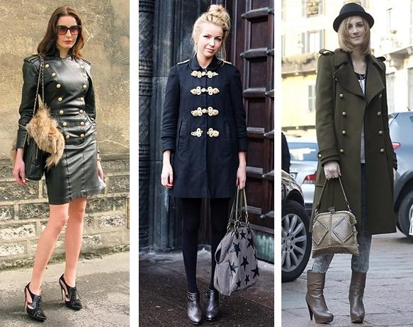 De Invierno Otoño Moda Está Para Militar Mujeres Estilo El 2013 nqw47x0tY