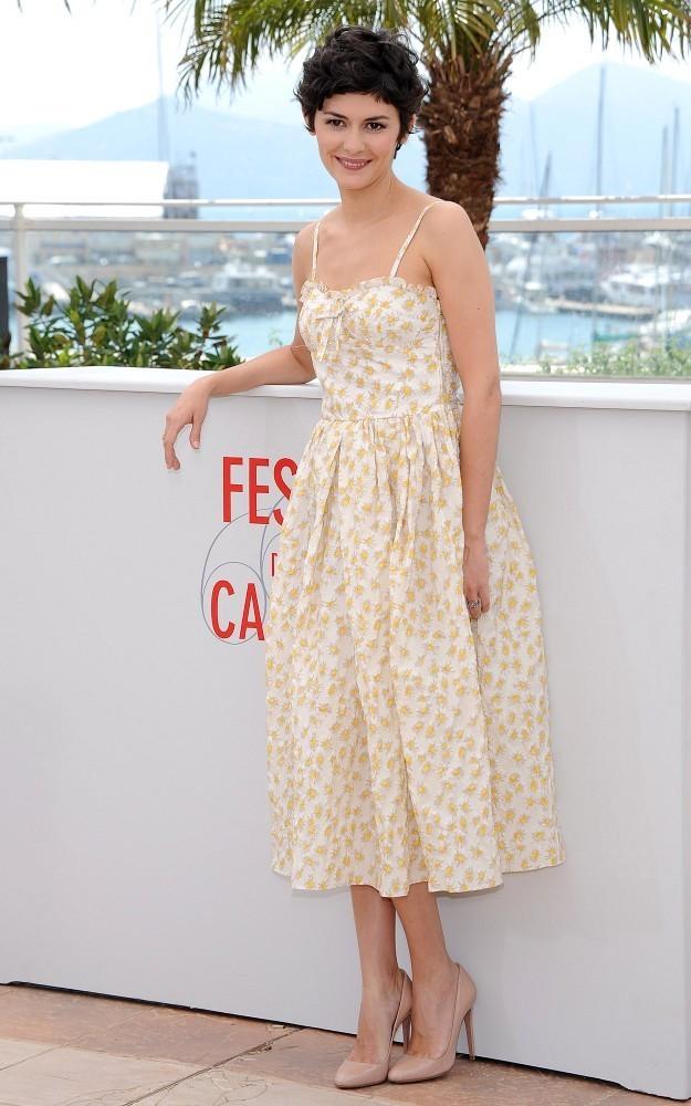 Cannes día Tautou