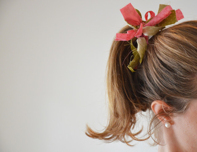 Manualidades - Hazlo tú misma: Colitas para el cabello
