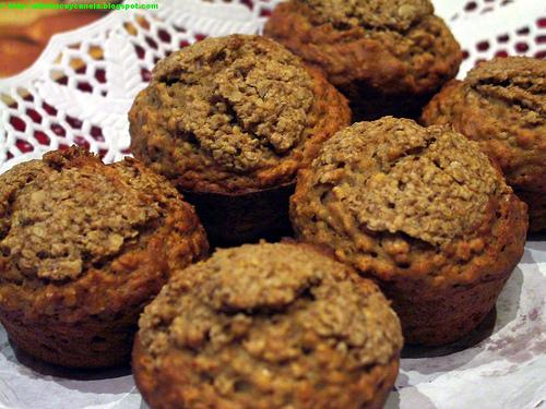 muffins manzana
