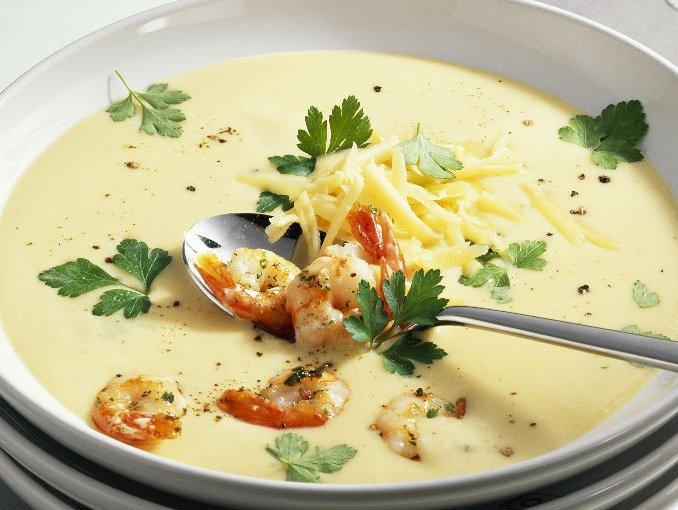 sopa queso