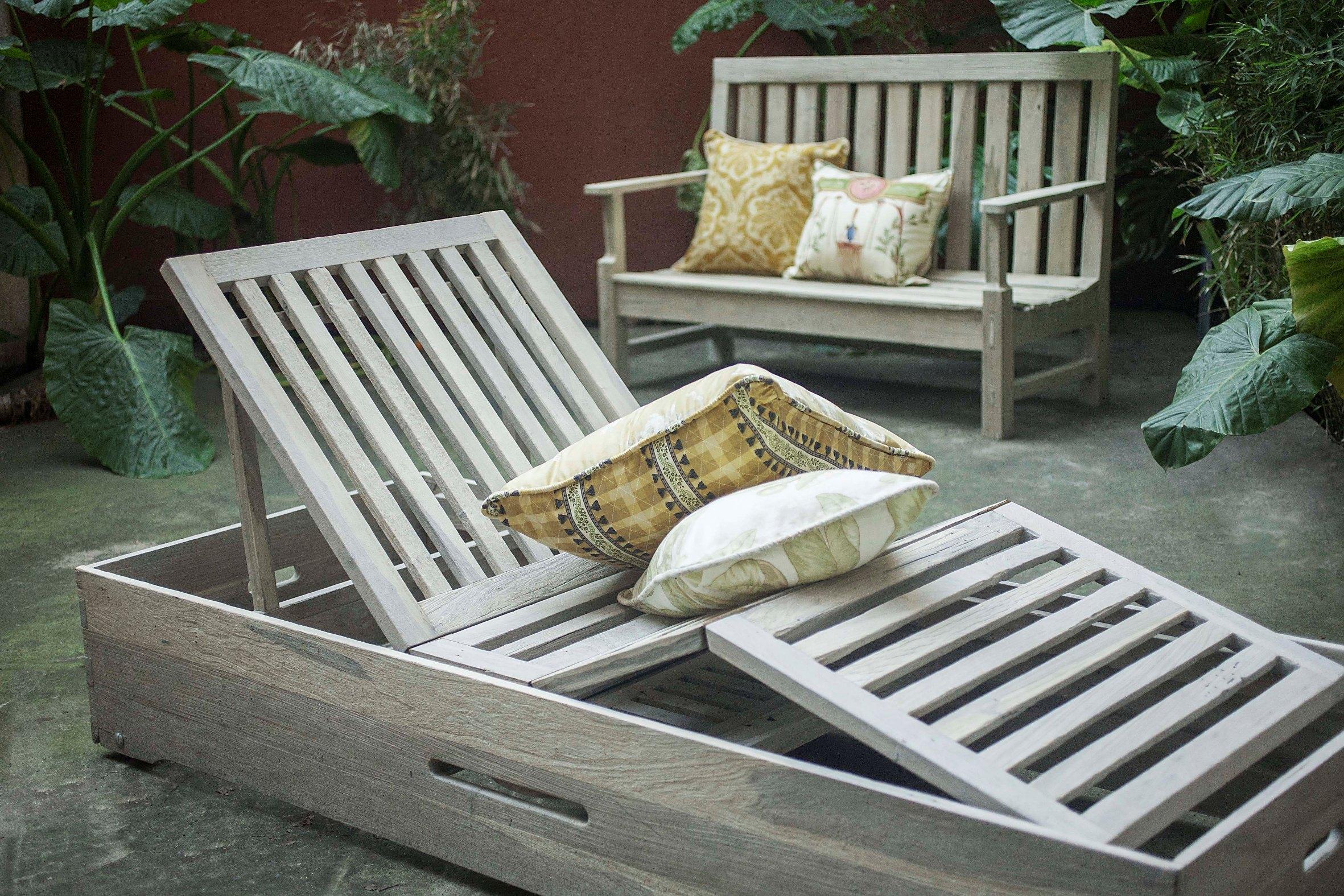 Muebles de Jardín- Agustina Cerato
