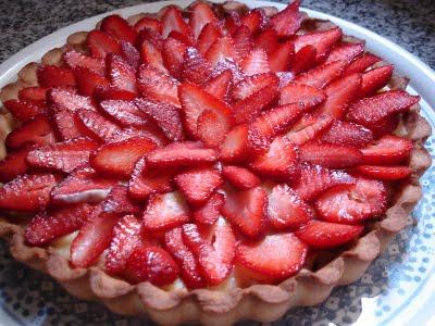 Resultado de imagen para tarta de frutillas