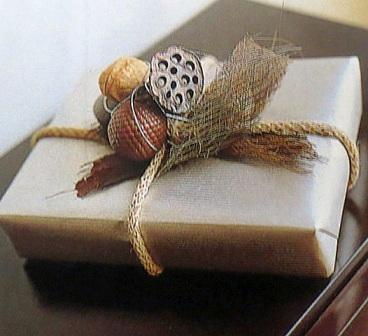 regalo rústico