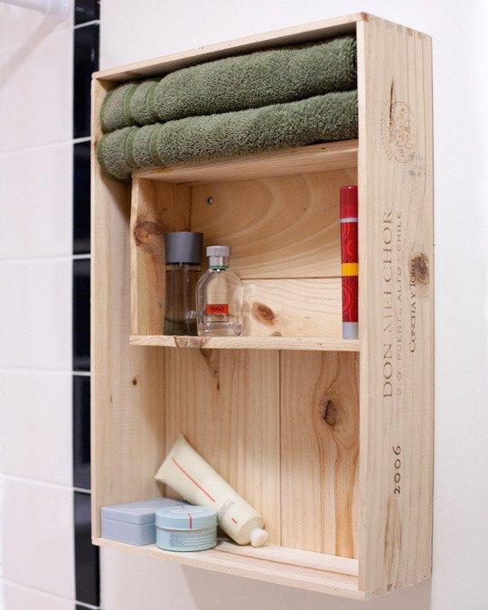Botiquin Para Baño Reciclado:Idea Pink: Botiquín reciclado para el baño! : Mujeres de mi edad