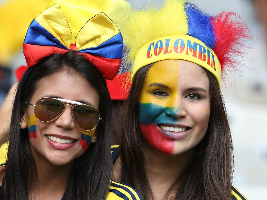 mujer colombia