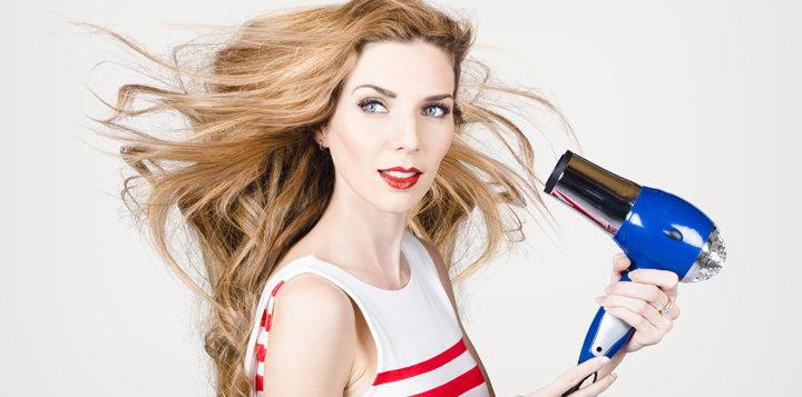 Imagen vía: Secador de cabello