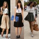 Imagen vía: Faldas de moda